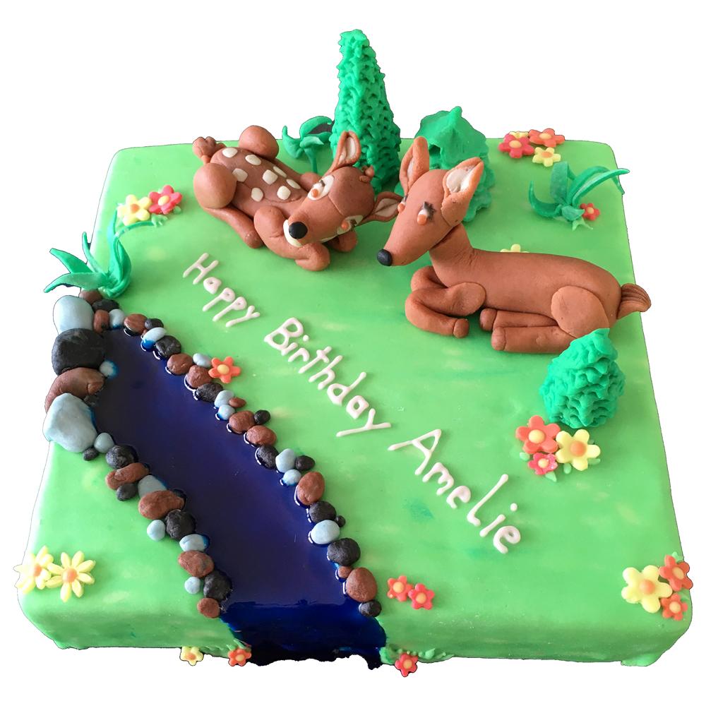 kreative Geburtstagestorten